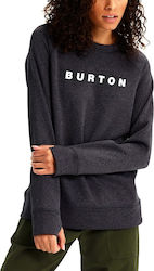 Burton Oak Crew Sweatshirt 164411001 True Black Heather