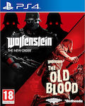 Wolfenstein The Two Pack PS4