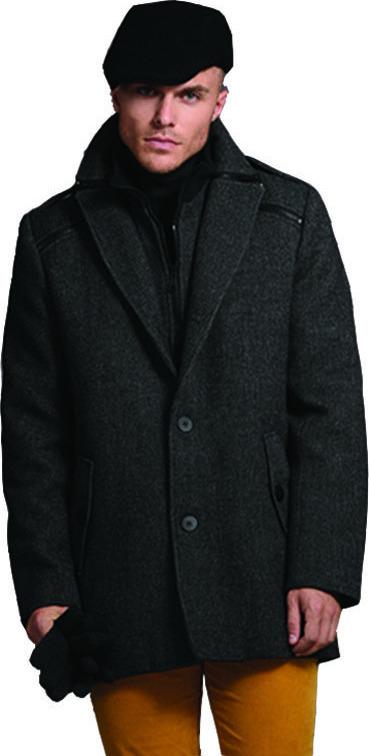 Biston Παλτό Ανθρακί 40-201-058 - Skroutz.gr 67afa875da8