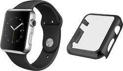OEM Ultra Thin Plastic Cover 360 Black (Apple Watch 42mm)