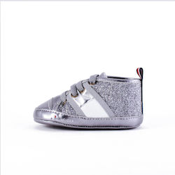 f560b0aa703 Tommy Hilfiger Lace-up Infant's Shoes T0A4-30001-0268-923- - DARK SILVER