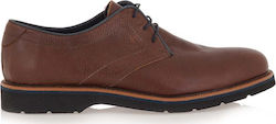 STEVE KOMMON LACE-UP SHOES H579V9691532 - ΤΑΜΠΑ ΔΕΡΜΑ