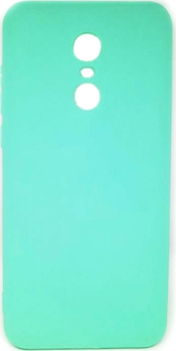 Προσθήκη στα αγαπημένα menu Θήκη Πλάτης Σιλικόνης για Xiaomi Redmi 5 Plus -  Χρώμα  Τυρκουάζ b52e44e1306