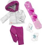Battat Deluxe Snowboard Outfit