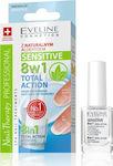 Eveline Sensitive 8w1 Total Action Intensive Nail Hardener 12ml