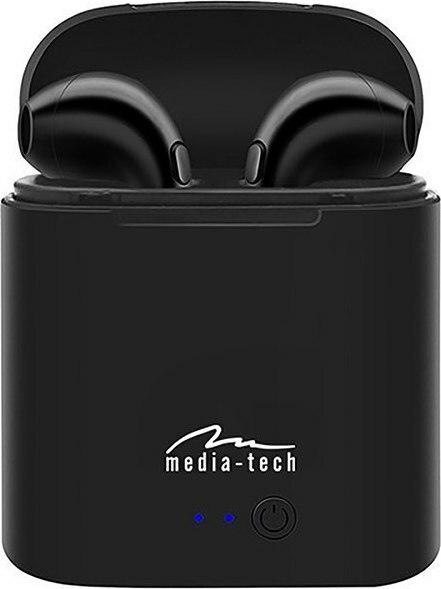 Media-Tech  Earbud Bluetooth Handsfree Μαύρο (MT3589K) - Πληρωμή και σε έως 36 Δόσεις!!!