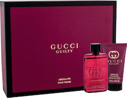 Gucci Guilty Absolute Pour Femme Eau de Parfum 50ml & Body Lotion 50ml