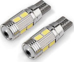 LMS T10 Can Bus 10 SMD 5630 Cool White 12V 1τμχ