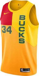 Nike Giannis Antetokounmpo City Edition Swingman Milwaukee Bucks AJ4624-717 802105d2db8