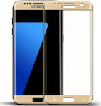 Full Face Tempered Glass Gold (Galaxy S7 Edge)