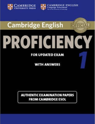 CAMBRIDGE ENGLISH PROFICIENCY FOR UPDATED EXAM 1 Student 's Book W/A