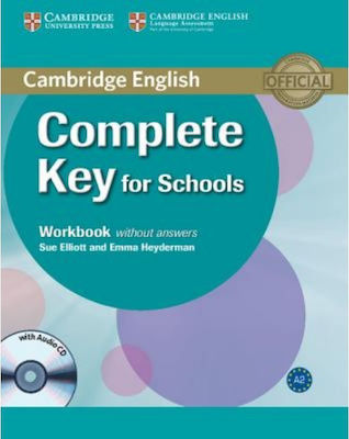 COMPLETE KEY FOR SCHOOLS workbook (+ AUDIO CD)
