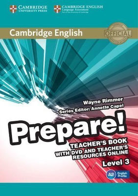 PREPARE! 3 Teacher 's book (+ DVD & Teacher 's book ONLINE RESOURCES)