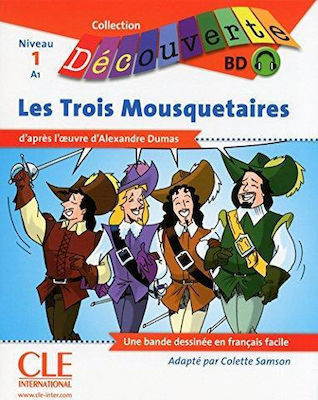 Collection Decouv. 1: LES TROIS MOUSQUETAIRES (+ CD)