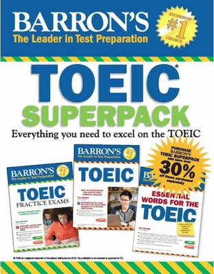 BARRON'S TOEIC SUPERPACK (+ CD-ROM)