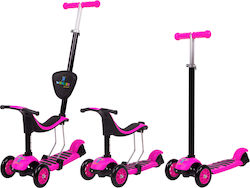 inSPORTline Worker Jaunsee Scooter 3 in 1 Pink