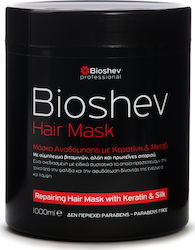Bioshev Professional Repair Hair Mask With Keratin & Silk 1000ml