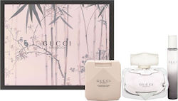 Gucci Bamboo Gift Set Eau De Parfum 75ml, Body Lotion Bamboo 100ml & Miniature 7,4ml