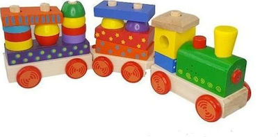 Gerardo's Toys Pull Along Wooden Train