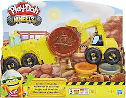 Hasbro Play Doh Wheels Drive & Dredge Excavator