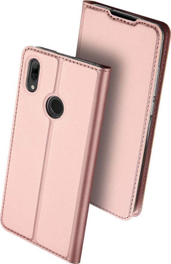 4d808936e6 Προσθήκη στα αγαπημένα menu Dux Ducis Skin Pro Wallet Ροζ Χρυσό (Huawei P  Smart 2019)