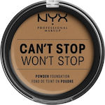 Nyx Professional Makeup Can't Stop Won't Stop Powder Foundation Neutral Tan 10.7gr