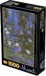 Claude Monet Nympeas 2D 1000pcs