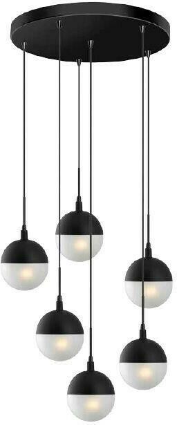 Luma 100-01132-13 Mαύρο | Κρεμαστά Φωτιστικά Οροφής FoeHKA8f