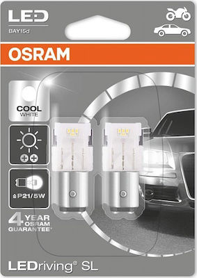 Osram P21/5W LEDRriving Cool White 12V 2τμχ Blister