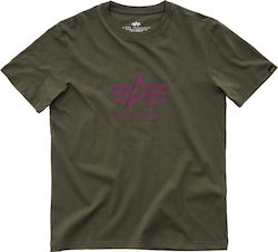 T-SHIRT ALPHA BASIC DARK GREEN