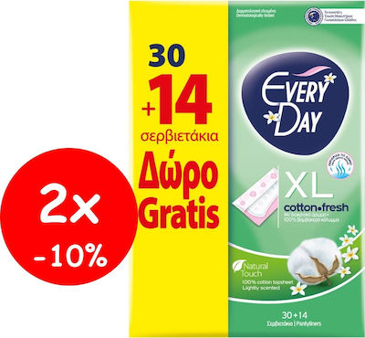Every Day Cotton Fresh Extra Long 2 x 44τμχ