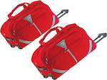Rain RB1002 Red 68cm 83lt Set 2x