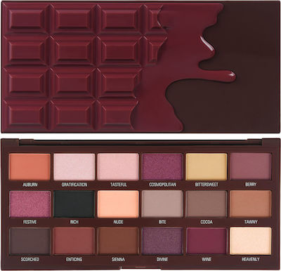 Revolution Beauty I Heart Revolution Cranberries & Chocolate Eyeshadow Palette