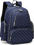 Miss Lulu Large Capacity Multi Function Baby Diaper Backpack E6706D2 Navy