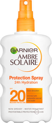 Garnier Ambre Solaire Protection Spray 24h Hydration SPF20 200ml