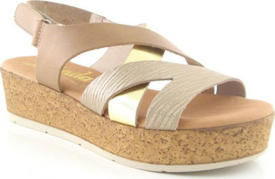 Oh My Sandals 3876 Taupe