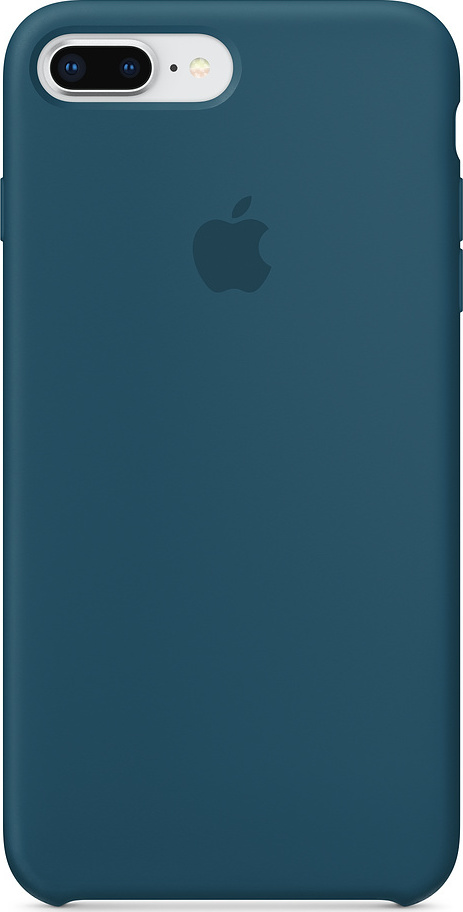 new products 25a7b 6fd65 Apple Silicone Case Cosmos Blue (iPhone 8/7 Plus)