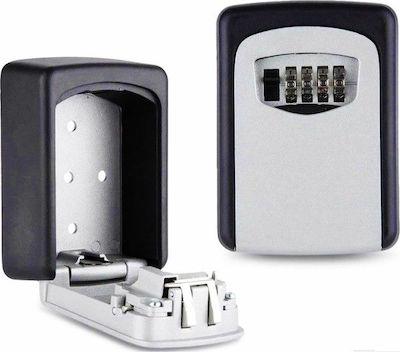 Κλειδοθήκη Τοίχου Μεταλλική B106 Με Κλειδαριά