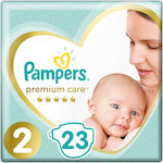 Pampers Premium Care Carry Pack Νo 2 (4-8kg) 23τμχ