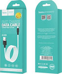 Hoco Regular USB 2.0 to micro USB Cable Λευκό 1m (X29 Superior)