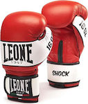 Leone Shock Boxing Gloves Laces GN047L Red