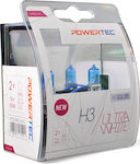 M-Tech H3 Powertec Ultra White 12V 2τμχ