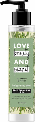 Love Beauty and Planet Tea Tree Oil & Vetiver Face Cleansing Gel 125ml