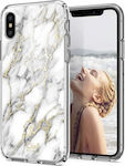 Spigen Cecile Glossy Marble Back Cover (iPhone X / Xs)