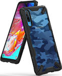 Ringke Fusion X Back Cover Σιλικόνης Camo Black (Galaxy A70)