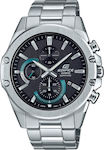 Casio Edifice Stainless Steel Silver Black