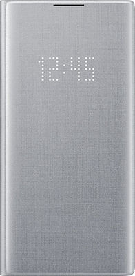 Samsung LED View Cover Ασημί (Galaxy Note 10+)