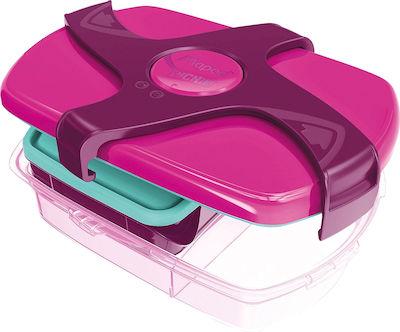 Maped Concept Πλαστικό Παιδικό Δοχείο Φαγητού 1.78lt Ροζ 870016 Μ24 x Π14 x Υ8cm