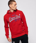 Superdry Vintage Logo Racer M2000074A-WA7 Rouge Red