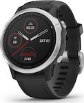 Garmin Fenix 6S (Silver with Black Band)